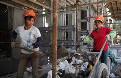 Las mujeres de la construcción chinas - Yahoo Finanzas España