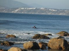 Horcon, Chile - surfer