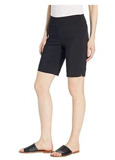 Krazy Larry shorts create a bold look for your wardrobe that stands out above the rest. Crafted from a figure-flattering smooth blend of nylon and rayon with spandex for a smidgen of stretch, these pull-on short flaunts a high rise with a regular fit that hits just above the knee. The signature built-in tummy control p Larry, Bermuda Shorts, Rest, Smooth, Spandex, Slim, America, Color, How To Make