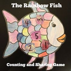 Miss Bridget's Classroom: The Rainbow Fish Printable Game
