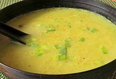 Alu šúrvá - indická bramborová polévka