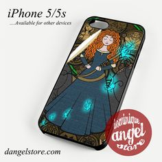brave disney princess Phone case for iPhone 4/4s/5/5c/5s/6/6 plus
