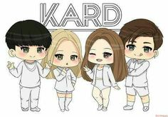 K.A.R.D don't recall fanart this is so beautiful,cuties