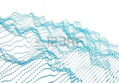 Abstract Rendering Of Waves With Particles. by Abstract rendering of waves with particles on white background. Futuristic background with lines of many low poly spheres. 3d Background, Background Templates, 3d Design, Graphic Design, Futuristic Background, 3d Rendering, Cool Logo, Stock Pictures, Royalty Free Images