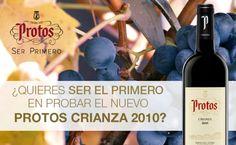 Sorteo de 10 botellas de vino Protos Crianza