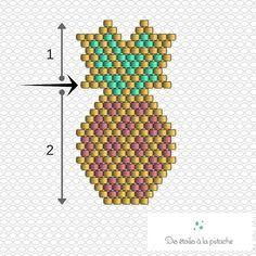 diagramme brick stitch - Google Search