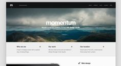 The Best Designs / Best Web Design Awards & CSS Gallery » Momentum
