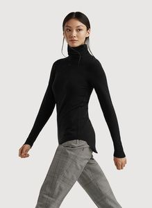 3ea5b1e59 Women's Brushed Cashmere Turtleneck - Willow Long Sleeve   Kit and Ace