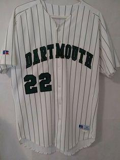 77b064b4b Dartmouth College Player Baseball Jersey, size 44 Made of polyester.