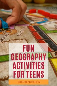 100 Hands-on Geography Activities for Middle School Hands On Geography, World Geography Games, Geography Lesson Plans, Middle School Geography, Geography Activities, Teaching Geography, Activities For Teens, History Education, Teaching History