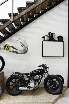 Too nice for the garage #motorcycle #motorbike