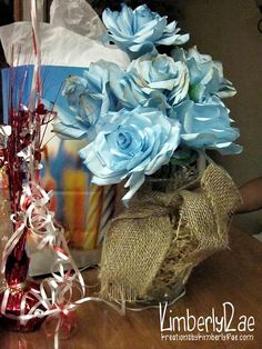Coffee Filter Handpainted Roses