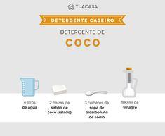 Detergente caseiro: 12 receitas baratas e que não agridem a natureza