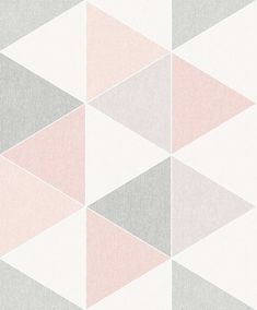 Scandi Triangle by Arthouse - Orange - Wallpaper : Wallpaper Direct
