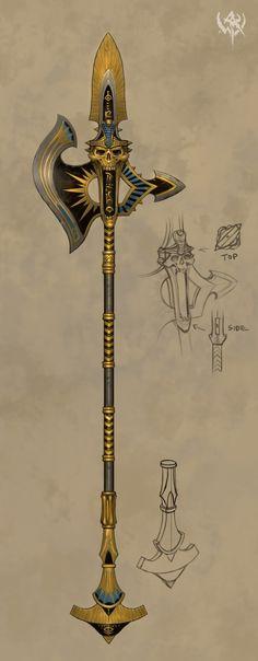 Bonjour, Je vous fais part du travail d'illustrations du jeu Warhammer online pour la terre des morts, soit notre chère Nehekara  . C'est une très bonne source