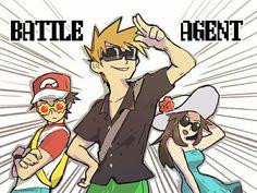 Battle agents of Kanto Gen 1 Pokemon, Pokemon Comics, Pokemon Memes, Gary Oak, Pokemon Red Blue, High Noon, Kawaii, Pokemon Pictures, Sakura Haruno