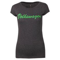 Ladies' Volkswagen Script T-Shirt