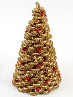 Choinka z makaronu - Zielonepalce - Dekoracje bożonarodzeniowe