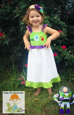 Buzz Lightyear Toy Story Dress by madeformermaids on Etsy