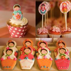 Matryoshka Doll Party Dessert Table Decorations