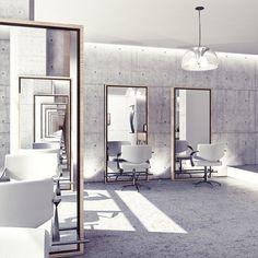 Beauty interior design of salon