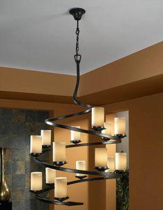 Lamparas rusticas modelo CRISOL de 14 Luces. Iluminacion Beltran, tu tienda de lamparas rusticas ONLINE. www.decoracionbeltran.com