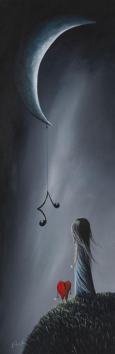 Se siente que su canción de amor - Arte surrealista de Shawna Erback es una pintura de Shawna Erback que fue subido el 17 de septiembre de 2012.