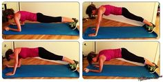 We're Bringing Sexy Back with this Alternating Push-up Plank | COMPLETE UPPER BACK EXERCISE |  Added bonus- engage your core and work your abs at the same time! | NutritionTwins.com