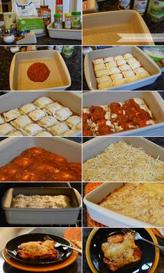 Easy Baked Ravioli | Day 3 {12 Days of Pinterest – Fall Edition} | Gina Hickman Photography