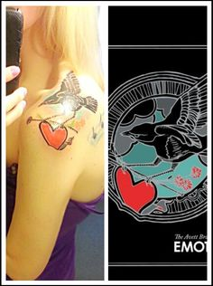 The Avett Brothers Emotionalism tattoo...yes, this is me ♡