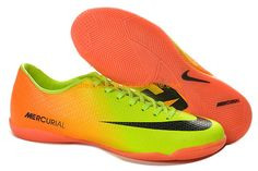 New Nike Mercurial Victory IV IC Indoor Boots For Sale Volt Black Citrus