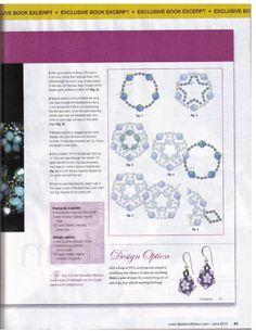 Схемы: Браслеты. Архив Beads and Button 2010 г. Часть 1