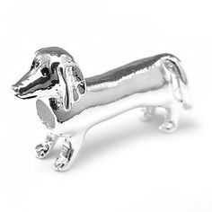 d0c79ad39 Dachsund (Dachshund) Charm by Olympia Beads & Charms - Compatible for  Pandora,