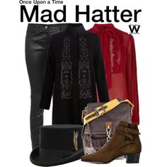 d2db005ec05 Polyvore · Inspired by Sebastian Stan as the Mad Hatter on Once Upon a  Time. Fandom Outfits