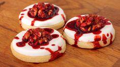 Gehirn Cookies Rezept als Back-Video zum selber machen! Ganz einfach Schritt für Schritt erklärt!