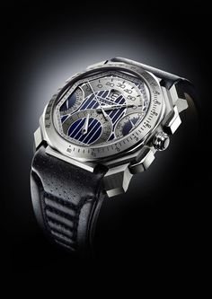 With a strong, masculine design, the Bulgari Octo Maserati watch is a  perfect luxe accessory for men with style. 9aa153b2f30