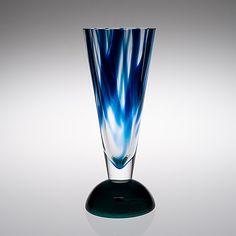 Sea Glass Art, Glass Vase, Glass Door, Glass Design, Design Art, Crystal Glassware, Wine And Spirits, Scandinavian Design, Diy For Kids