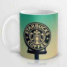 Personalized mug cup designed PinkMugNY - I love Starbucks - Cheetah ...