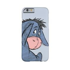 Sketch Eeyore 1 Barely There Iphone 6 Case (€38) ❤ liked on Polyvore featuring accessories, tech accessories и phone cases