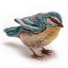 Pajarito textil y bordado | by Catherine Frere-Smith