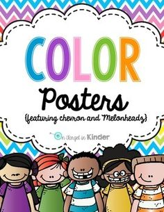 These color posters are sure to brighten up your classroom!  They feature a chevron background and Kidletts clip art from Melonheadz!  I hope you enjoy this freebie and are kind enough to leave feedback if you download.Follow my store to get notification of new products!