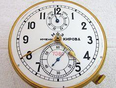 1-MChZ (POLJOT) CHRONOMETER VINTAGE RUSSIA USSR NAVY MARINE SHIP SUBMARINE CLOCK | eBay