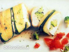 Kuracie prsia v cukine s brokolicou