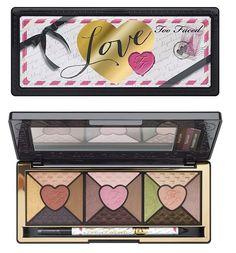 Tendance Maquillage Yeux 2017 / 2018   Palette d'amour trop affinée Passionnellement jolie collection d'ombre à paupières #toofaced