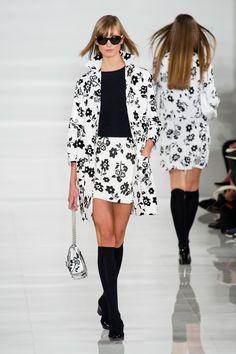 Fashion Show: Весна 2014 | Ralph Lauren Spring/Summer 2014 | Черное & Белое
