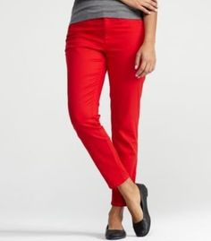 Eileen Fisher Slim Ankle Pant with Ankle Zip in Garment-Dyed Organic Cotton Stretch Twill Eileen Fisher. $178.00
