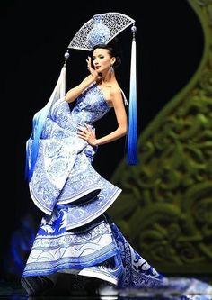 Chinese wind wedding dress (1)