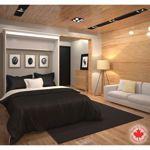 Bestar - Evolution Queen Wall Bed - White Costco Wall Beds http://www.costco.ca/wall-beds.html