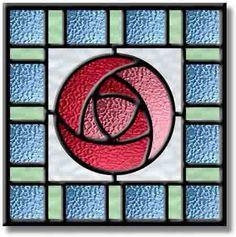 Mackintosh rose stained glass - Поиск в Google