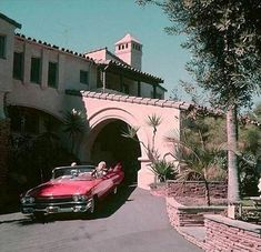 Jane Mansfield's house and car